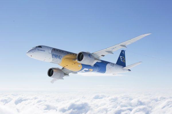 巴航工业首架E190-E2提前实现首飞