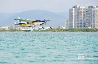 水上飞机发展迎春天 将成未来旅游新趋势