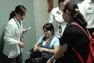黄山机场空地联动救治患病旅客