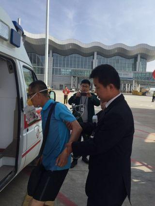 东航甘肃空地联动 保障特殊旅客