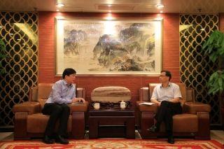中南局局长会见河南机场集团总经理