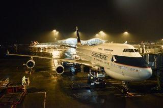 """搭乘这两个航班 见证国泰747""""空中女王""""退役"""