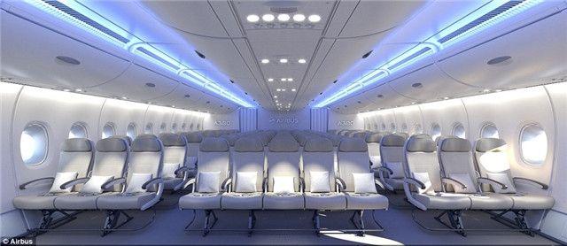 经济舱一排11座?一图全览A380飞机客舱布局