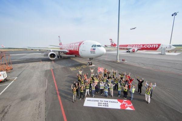 亚航X机队规模达到31架 为A330全宽体机机队