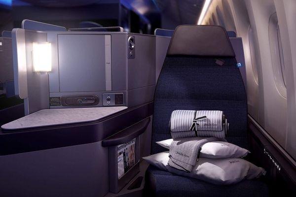 视频:极致舒适体验 美联航推出最新商务舱
