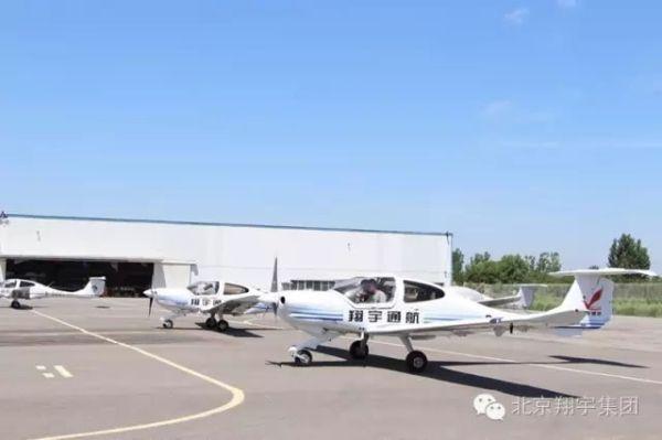 翔宇通航在滨州大高机场顺利完成试飞