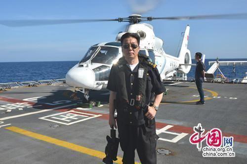 """中国海监直升机坠毁 著名摄影家""""巡海""""殉职"""