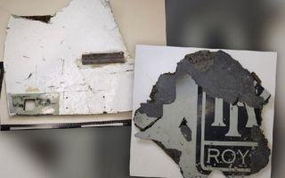 2016年4月20日,澳大利亚基础建设和交通部长达伦·切斯特发表声明,确认澳大利亚运输安全局提供的技术报告证实,在莫桑比克发现的飞机残片来自失事的马航MH370航班客机。图为此前被证实的马航MH370客机残骸。