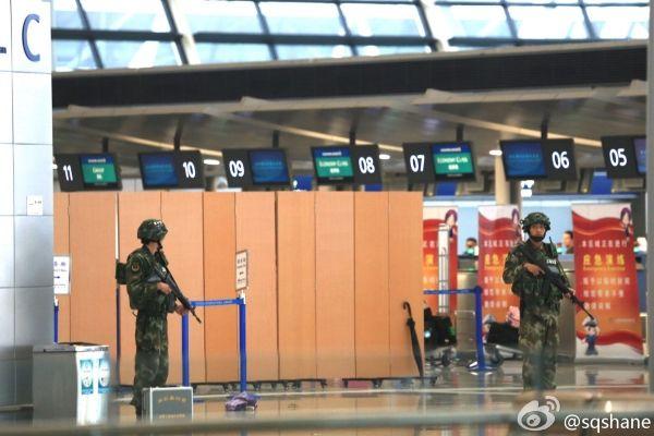 浦东机场爆炸并非恐怖袭击 出行旅客不必惊恐