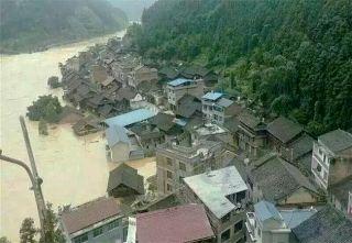 特大暴雨侗族同胞受困 黎平機場緊急協調解救