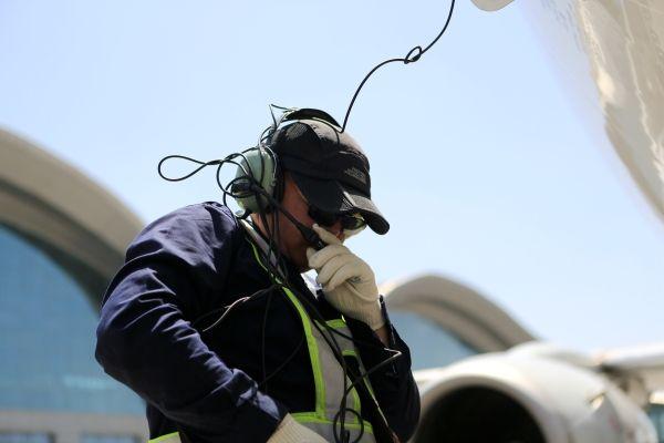 南航新疆:首场持续高温,体验60度炙热机坪
