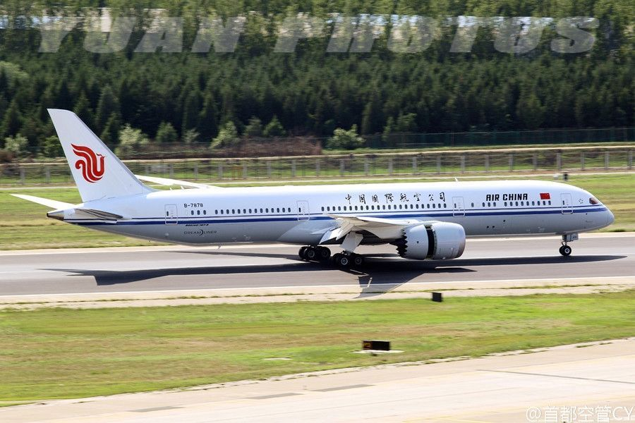 Photos air china receives 2nd boeing 787 9 dreamliner air chinas 2nd boeing 787 9 dreamliner registration b 7878photo by publicscrutiny Images