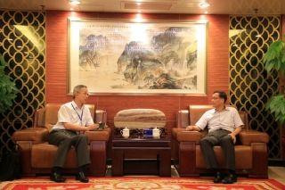 中南局与南航珠直共商通航安全与发展