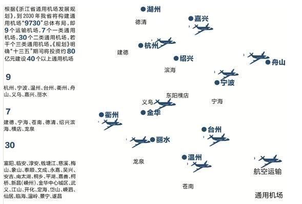 浙江将建一小时空中交通圈 德清通航机场已开建