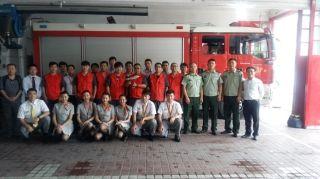 扬子江航空举办2016年第二期消防应急演练
