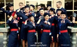 东航上海基地有法籍空姐啦!