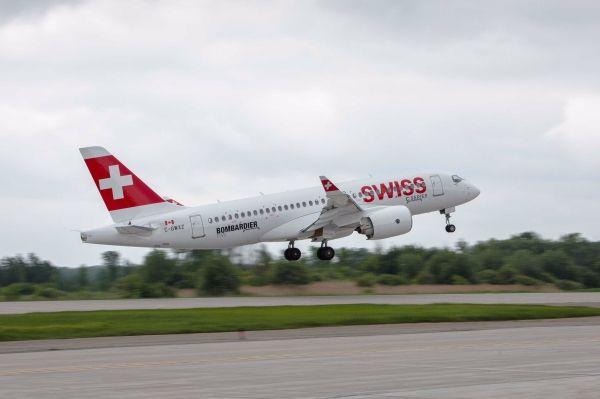 庞巴迪首架CS100客机将于6月29日交付瑞航