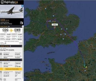 突发:美联航777挂7700代码 盘旋放油后备降