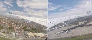 视频:国泰A350首航飞行体验