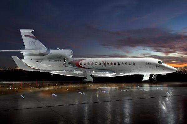 猎鹰8X公务机获EASA认证 将于第4季度交付