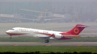 The return flight EU6680 left Shanghai Hongqiao at 1:27 p.m.