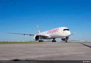 Ethiopian Airlines' first Airbus A350 XBW in Toulouse