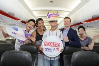 香港快运6月业绩节节上升 迎接第500万名旅客