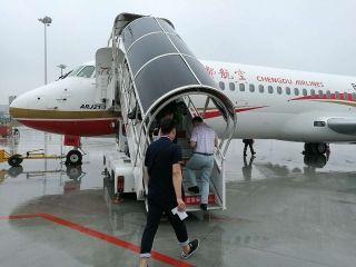 普通乘客首次坐上ARJ21 这次只放出70张机票