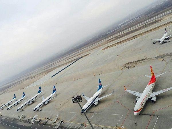 兰州中川国际机场日航班保障突破300架次
