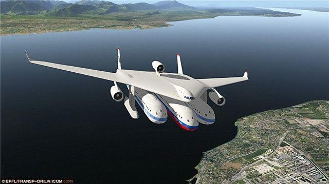 火车与飞机完美结合的未来飞行器