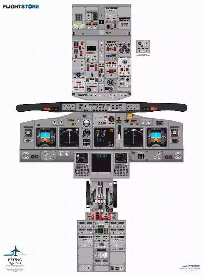 波音737ng驾驶舱