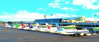 乌鲁木齐机场停场过夜航空器首次达到百架