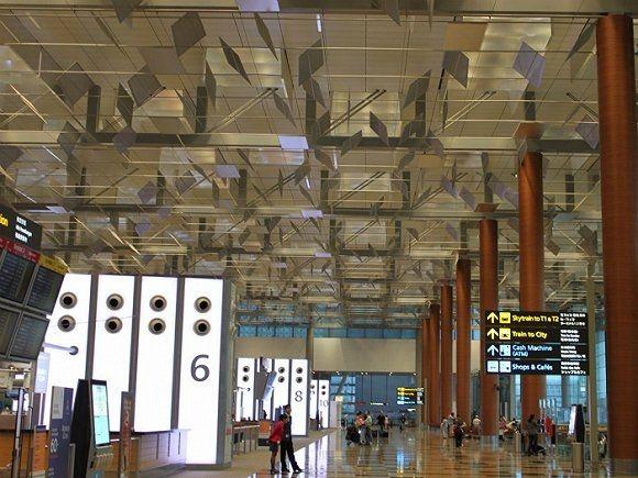 新加坡樟宜机场:2015年共接待5544.9万游客