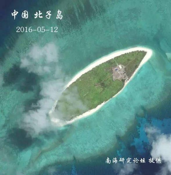 中国南海岛礁最新卫星图集:一个都不能少
