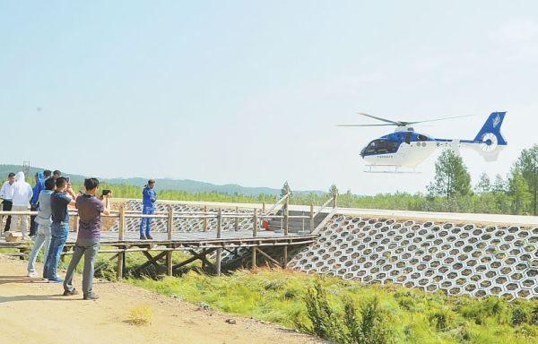 2016南瓮河低空游项目开航 空中游览成转型亮点