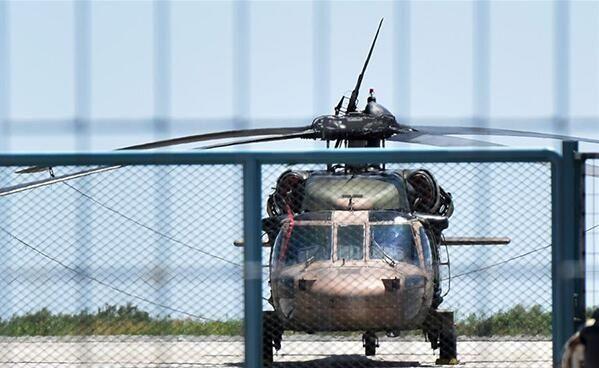 希腊将归还土耳其直升机 8名军人遵照程序处理