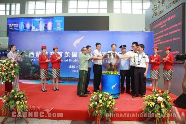 西藏航开通首条国际航线:3.5小时成都飞苏梅