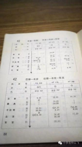 陈旧航班时辰表中的中国民航展开之路
