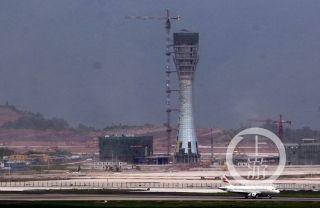 重庆江北国际机场T3A航站楼初见雏形