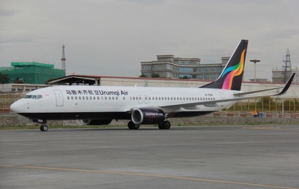 乌鲁木齐航空成功引进第七架飞机