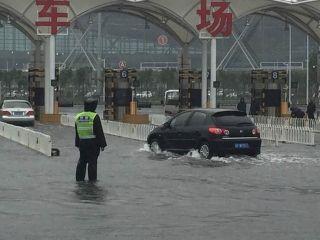 入汛最强暴雨 天津机场以坚守和真情守护空港