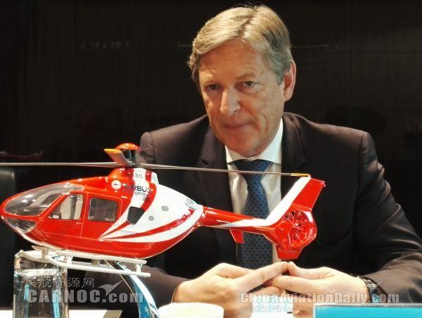 诺贝尔:空客直升机在华倡导直升机全产业生态链