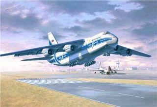 安-124运输机将升级发动机 瞄准西方排放标准