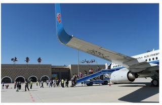 """乌鲁木齐机场 助力新疆发展的""""空中引擎"""""""