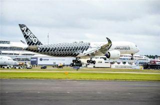 上半年空客收获订单391亿欧元 总收入290亿