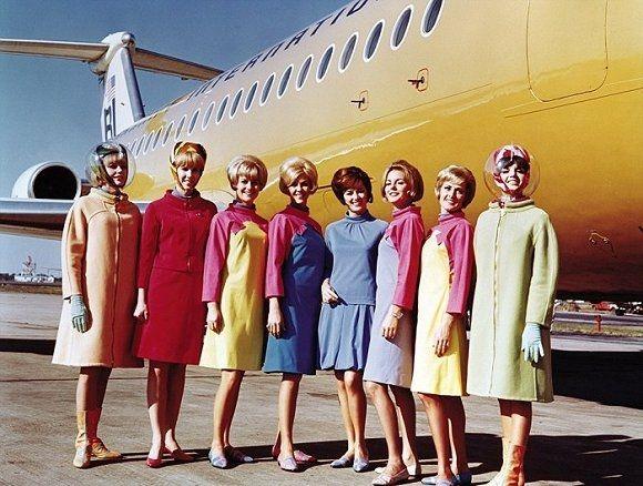 怀旧 你知道七八十年前的空姐制服是怎样的吗?