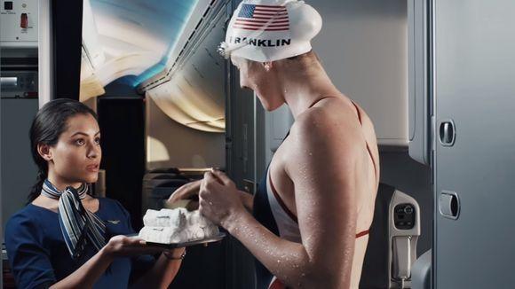 视频:为了坐上飞机 美国奥运代表队各显神通