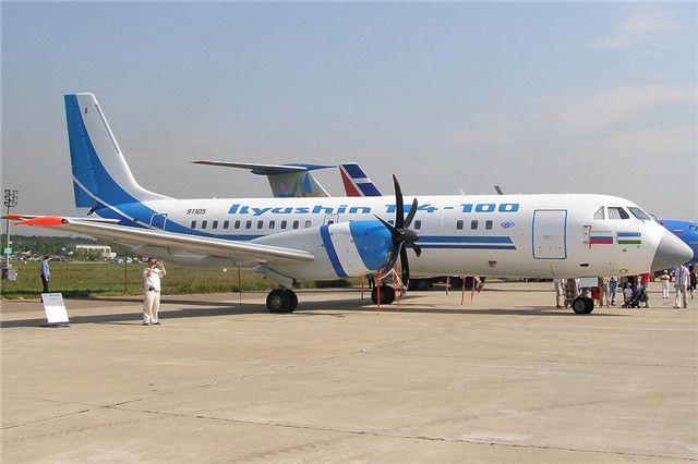 俄拟在印度建立伊尔-114涡桨客机生产线