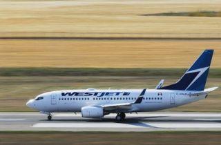 加拿大客机飞行途中漏油 备降冰岛