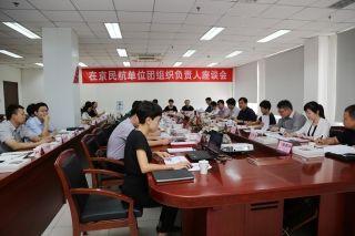 在京民航单位团组织负责人座谈会在中联航举行